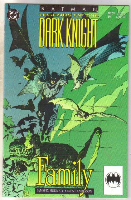 Batman Legends of the Dark Knight #31 comic book near mint 9.4