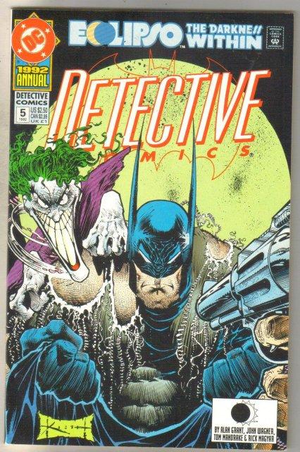 Detective Annual #5 comic book mint 9.8