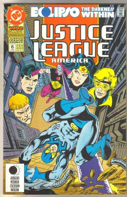 Justice League America Annual #6 comic book mint 9.8