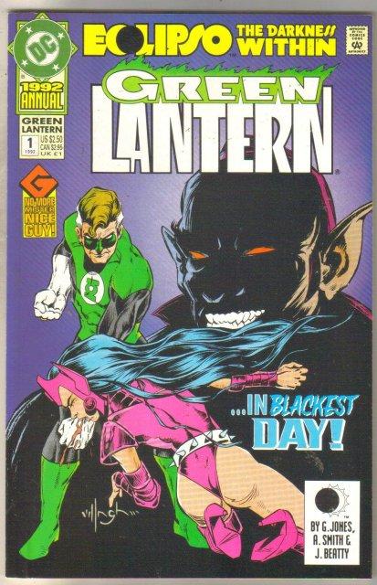 Green Lantern Annual #1 comic book mint 9.8