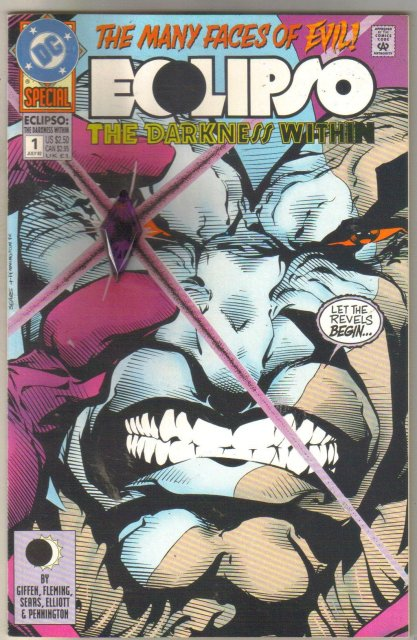 Eclipso The Darkness Within Special #1 comic book mint 9.8
