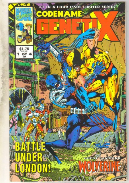 Codename: Genetix #1 comic book mint 9.8