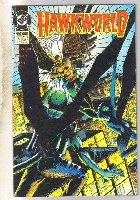 Hawkworld #3 comic book near mint 9.4