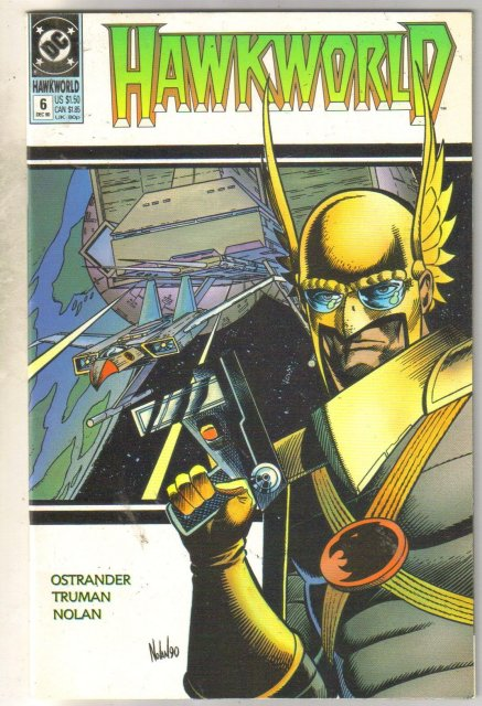 Hawkworld #6 comic book near mint 9.4