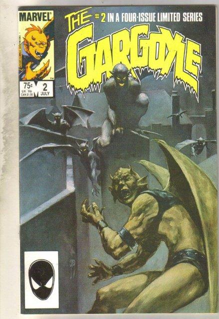 Gargoyle #2 comic book very fine 8.0