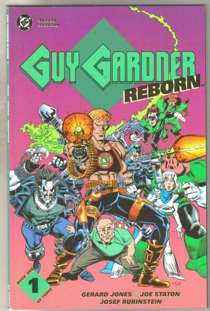 Guy Gardner Reborn #1 comic book near mint 9.4