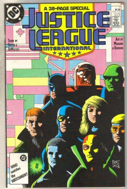 Justice League International #7 comic book mint 9.8