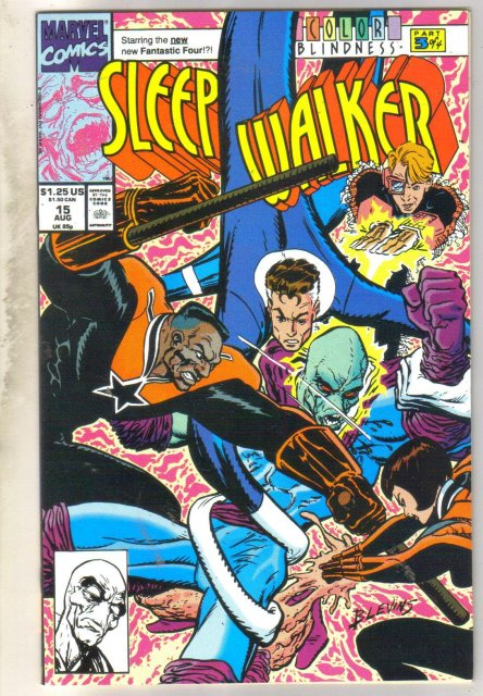 Sleepwalker #15 comic book mint 9.8