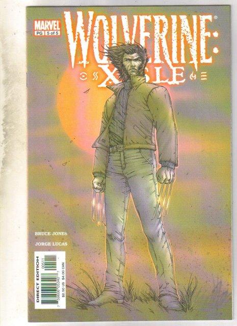 Wolverine: Xisle #5 comic book mint 9.8