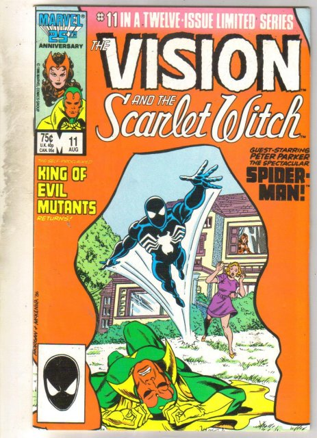 Vision and the Scarlet Witch #11 comic book fine 6.0
