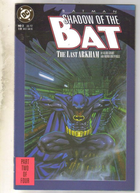 Batman Shadow of the Bat #2 comic book near mint 9.4