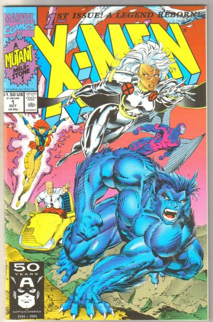 X-Men #1 (cover as shown) comic book near mint 9.4