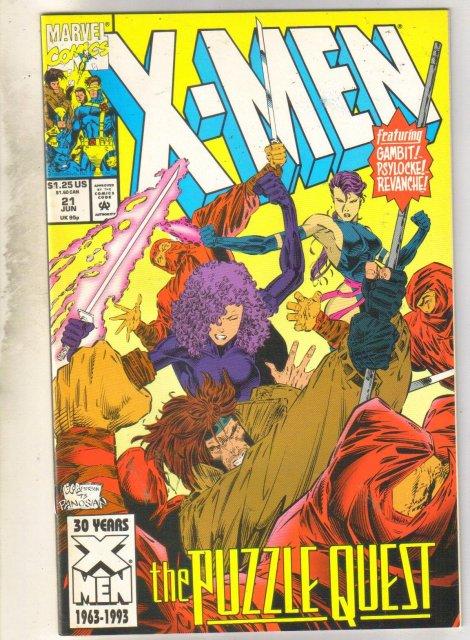 X-Men #21 comic book mint 9.8