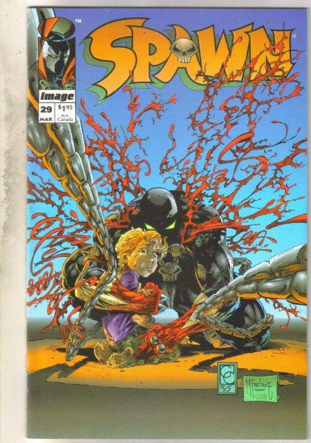 Spawn #29 comic book near mint 9.4