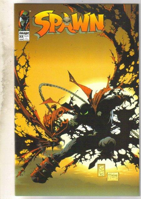Spawn #32 comic book near mint 9.4