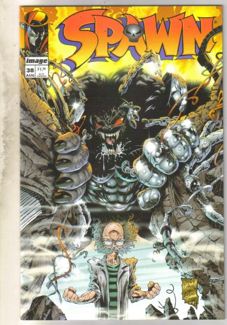 Spawn #38 comic book near mint 9.4