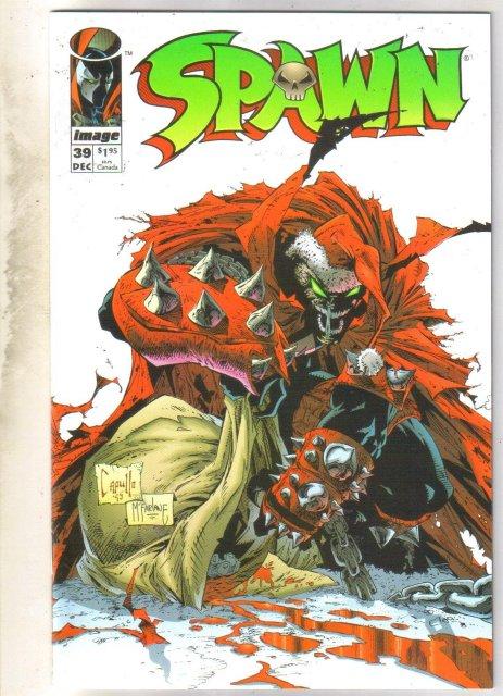 Spawn #39 comic book near mint 9.4