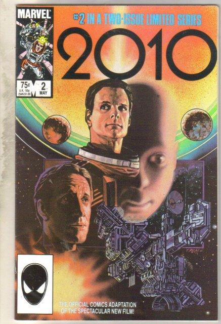 2010 #2 comic book very fine 8.0