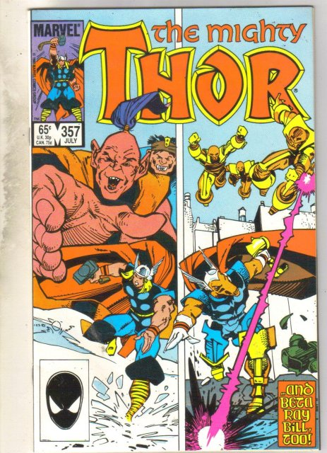 Mighty Thor #357 comic book near mint 9.4