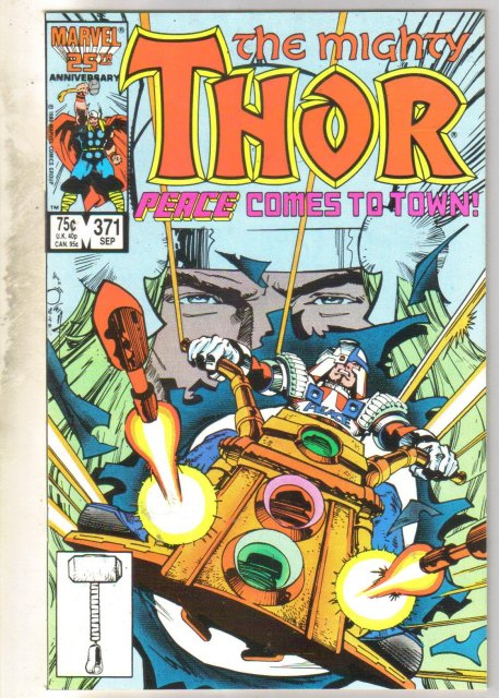 Mighty Thor #371 comic book mint 9.8