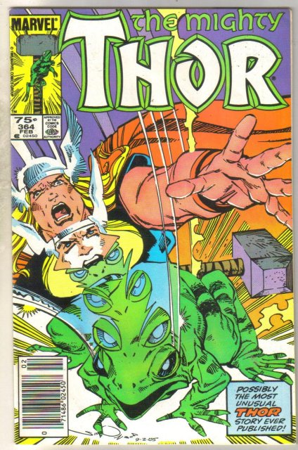 Mighty Thor #364 comic book very fine 8.0