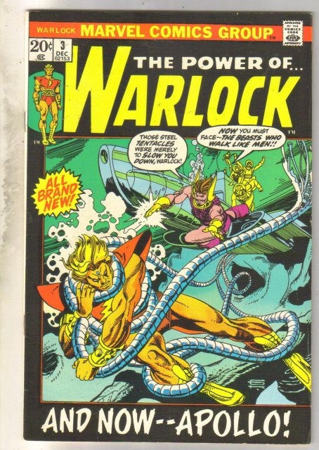 The Power of...Warlock #3  comic book very fine/near mint 9.0