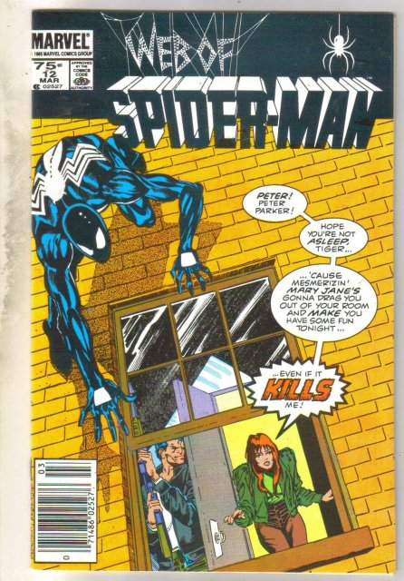 Web of Spider-man #12 comic book fine near mint 9.4