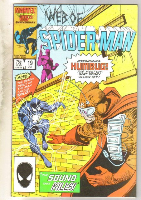 Web of Spider-man #19 comic book fine near mint 9.4
