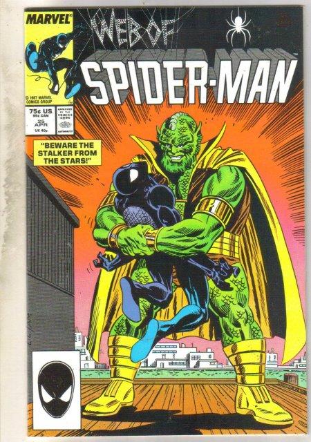 Web of Spider-man #25 comic book near mint 9.4