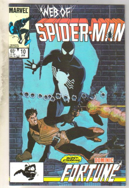 Web of Spider-man #10 comic book near mint 9.4