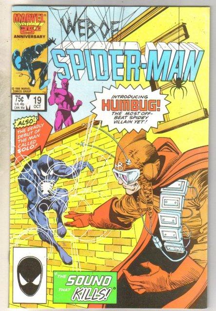 Web of Spider-man #19 comic book near mint 9.4