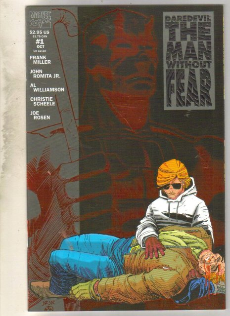 Daredevil The Man Without Fear #1 comic book mint 9.8