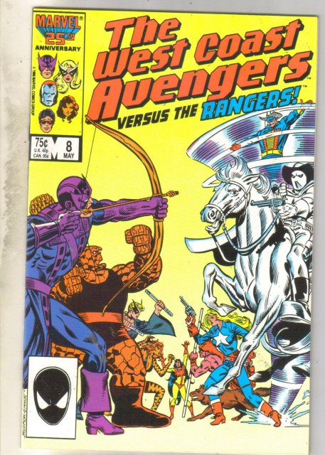 West Coast Avengers volume 2 #8 comic book near mint 9.4