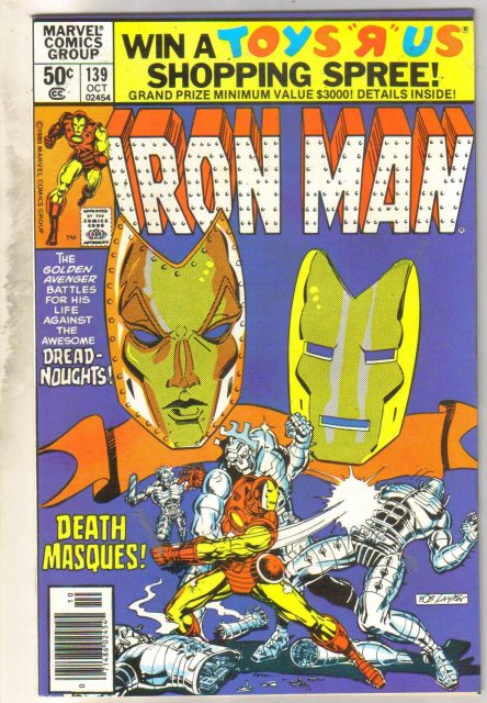 Iron Man #139 comic book near mint 9.4