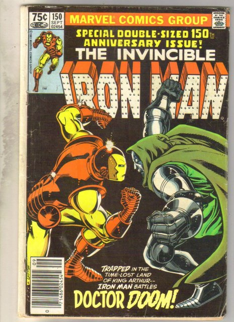 Iron Man #150 comic book very good 4.0