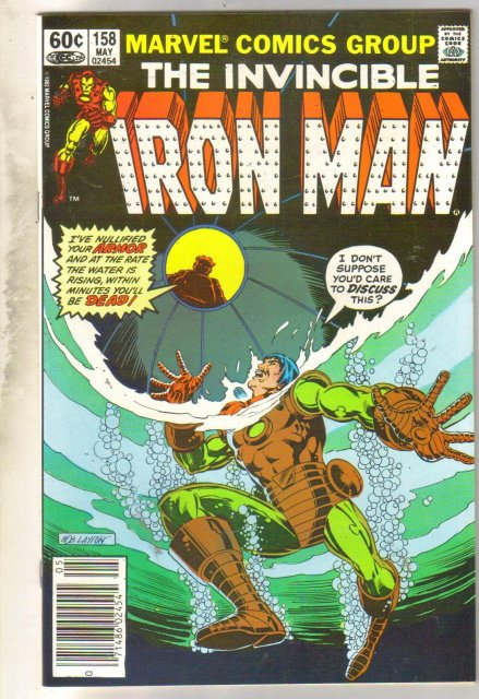 Iron Man #158 comic book very fine 8.0