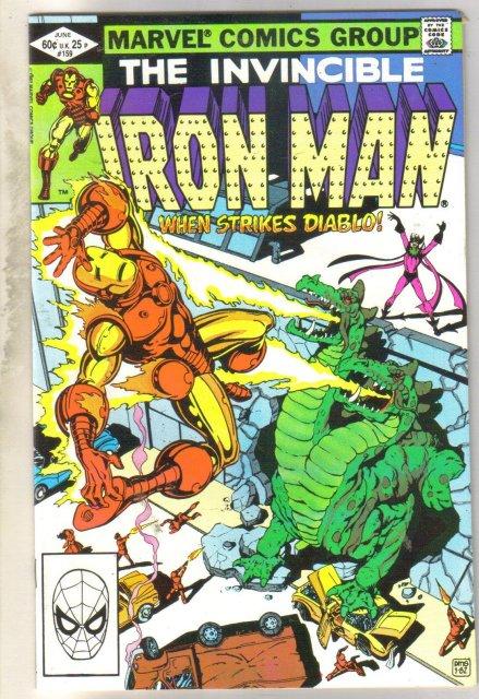 Iron Man #159 comic book near mint 9.4