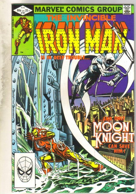 Iron Man #161 comic book near mint 9.4