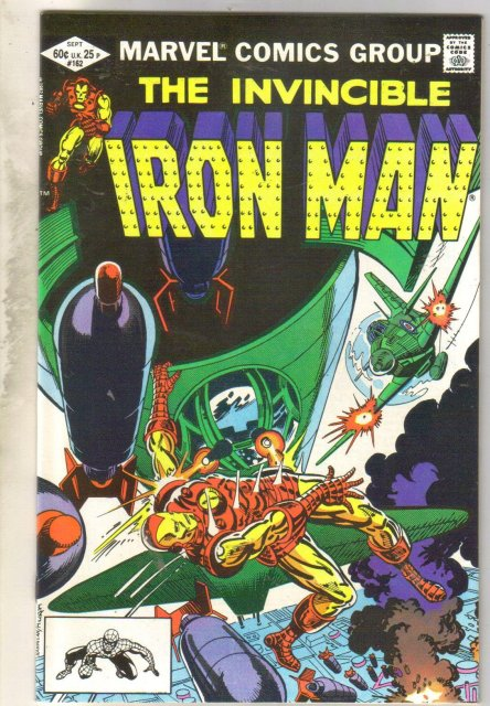 Iron Man #162 comic book near mint 9.4