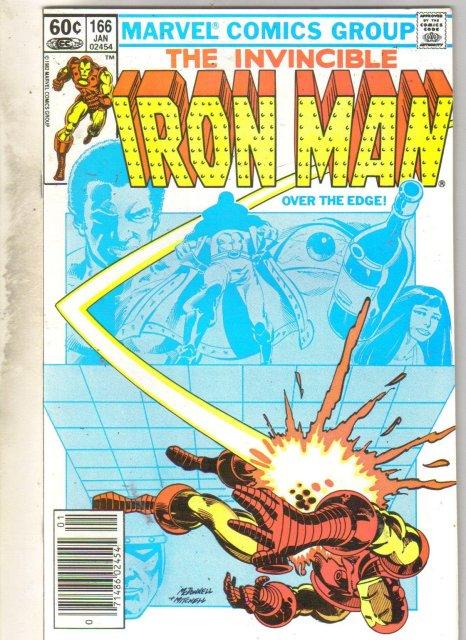 Iron Man #166 comic book near mint 9.4