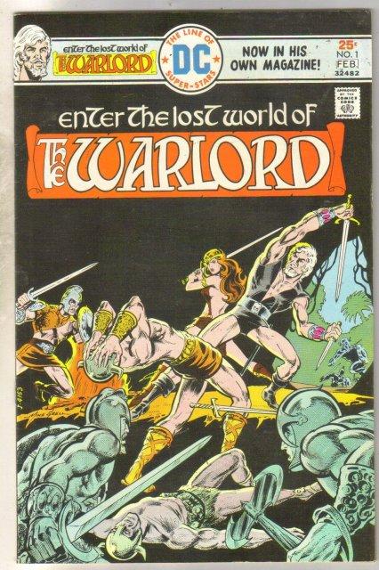 Warlord #1 comic book fine/very fine 7.0