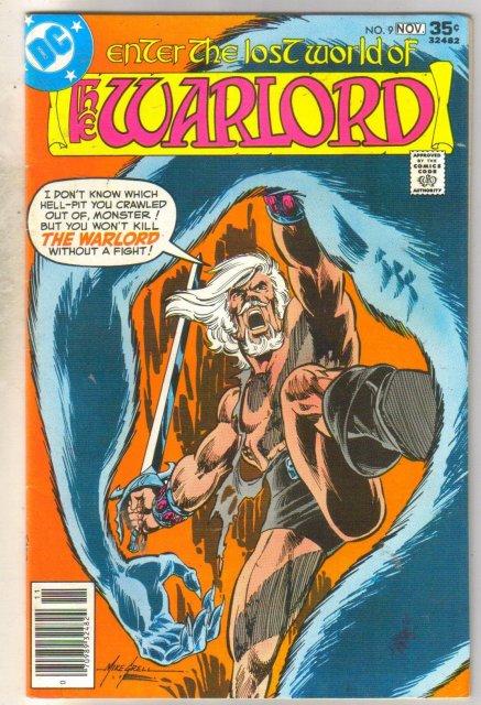 Warlord #9 comic book very fine 8.0