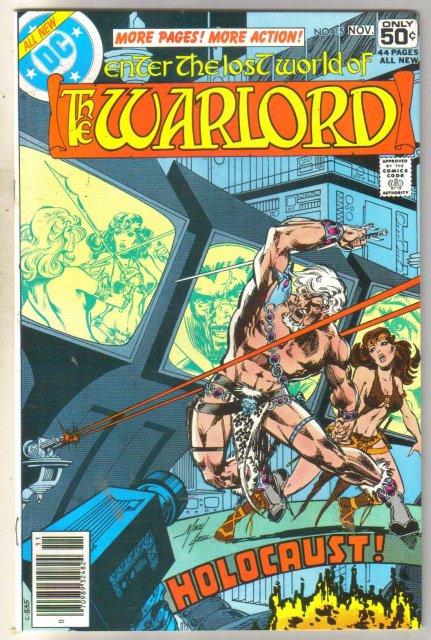 Warlord #15 comic book near mint 9.4