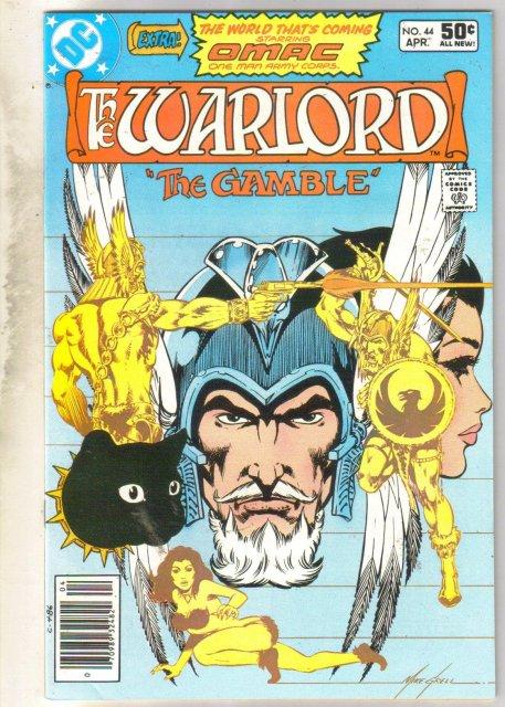 Warlord #44 comic book mint 9.8
