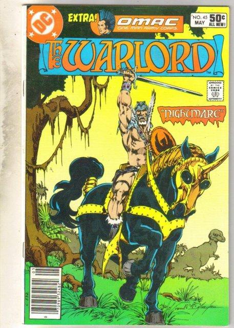 Warlord #45 comic book near mint 9.4