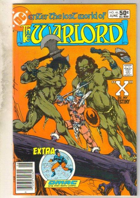 Warlord #46 comic book near mint 9.4