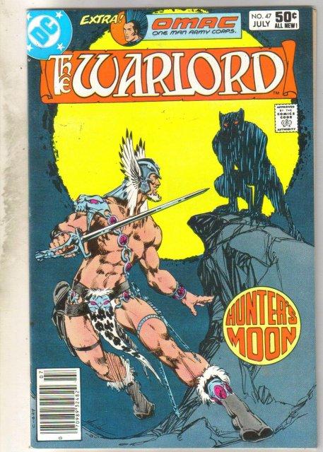 Warlord #47 comic book near mint 9.4