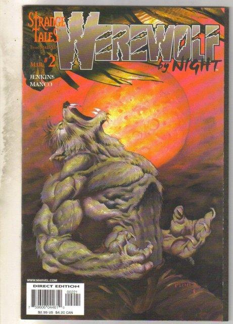 Werewolf by Night vol 2 #2 comic book near mint 9.4