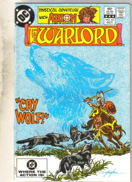 Warlord #62 comic book mint 9.8