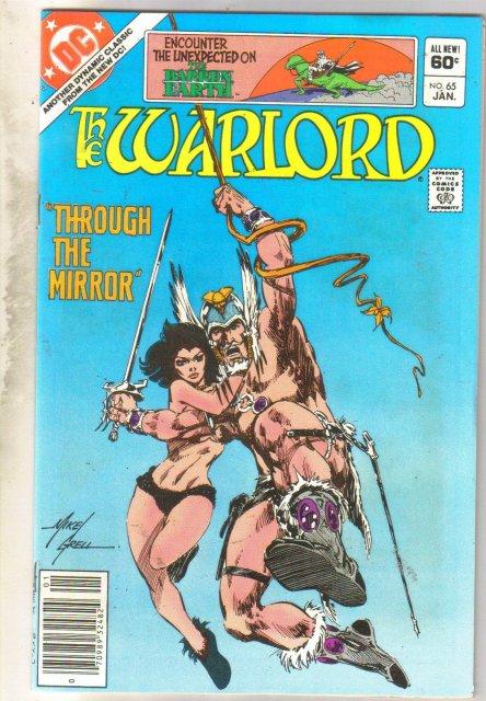 Warlord #65 comic book near mint 9.4
